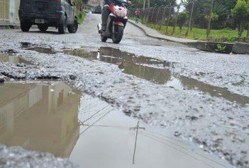 En Quebrada la Virgen piden reparación de vías