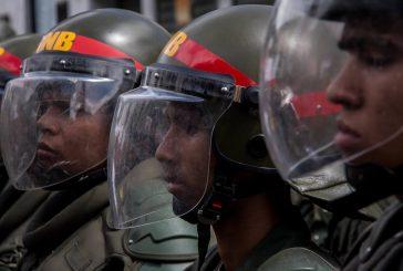 GNB resultó herido por un impacto de bala en El Paraíso