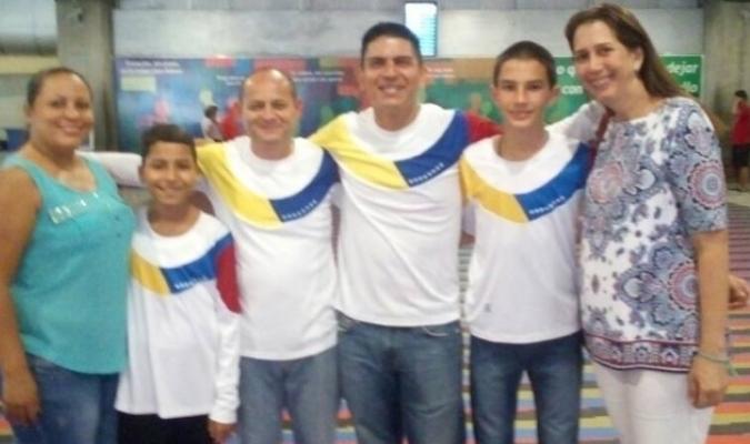 Venezuela partió para el Torneo de la Amistad