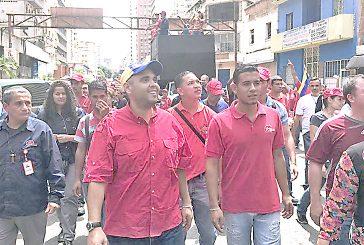 Oficialismo entregó recaudos de postulaciones a la Constituyente