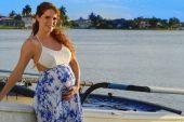 La actriz Maritza Bustamante reveló cuál será el nombre de su bebé