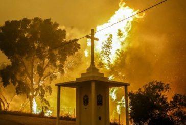 Las 12 personas que sobrevivieron escondidas en un tanque de agua al incendio de Portugal
