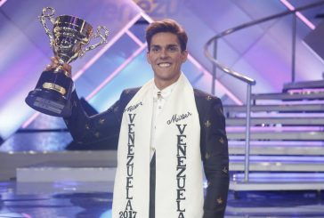 Cristian Nunes se alzó como el Mister Venezuela 2017