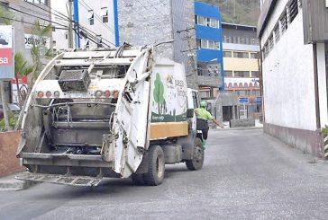 Los Salias se pone al día con recolección de basura