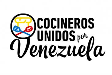 Cocineros se unen por Venezuela