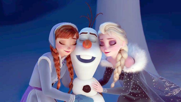 Olaf es la estrella de un nuevo corto animado de Disney