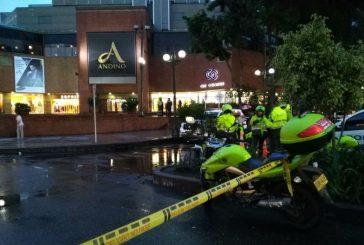 Explosión en centro comercial Andino, en Bogotá, deja al menos tres muertos