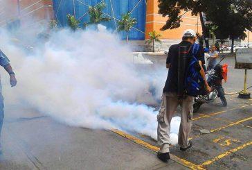 Manifestantes se mantienen en la Candelaria pese a fuerte confrontación con PNB