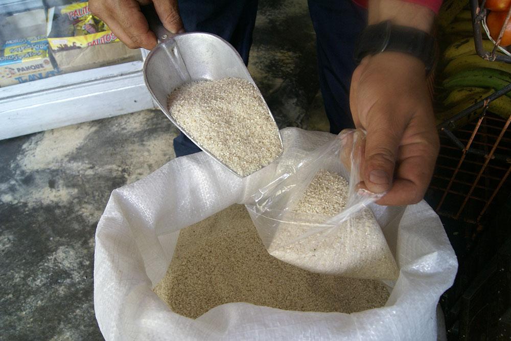 Consumo de arroz picado  es riesgoso para la salud