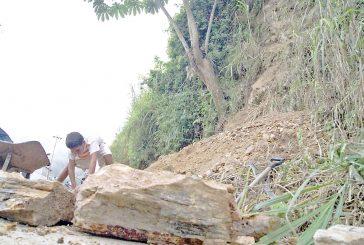 Palo de agua generaderrumbe en Pasatiempo
