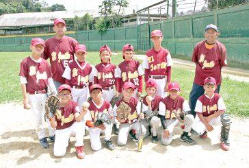 Catiritos de El Jarillo campeones del beisbol pre infantil Criollitos