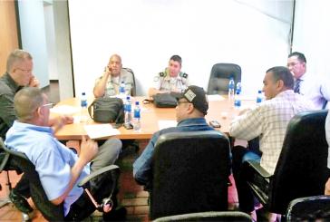 Cuerpos de seguridad se reúnen para organizar operativos