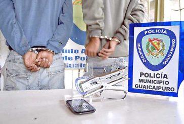 Detenidos en Quebrada la  Virgen por robar a fémina
