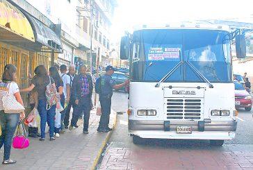 Inspeccionan buses carrizaleños