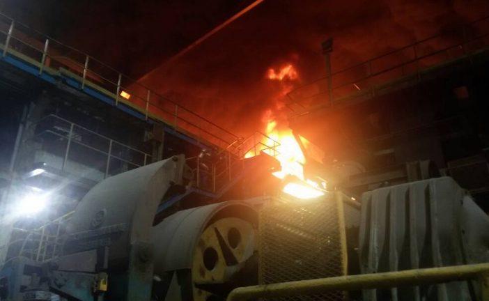Controlado incendio en área de laminación en frío de Sidor