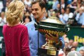 Federer conquista Halle frente a Zverev