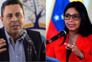 Delcy Rodríguez encabeza lista de ministros que van a la Constituyente