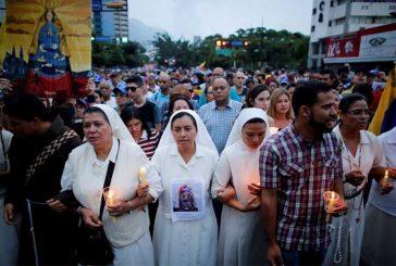 Oposición marchó por muerte de Neomar Lander en Caracas