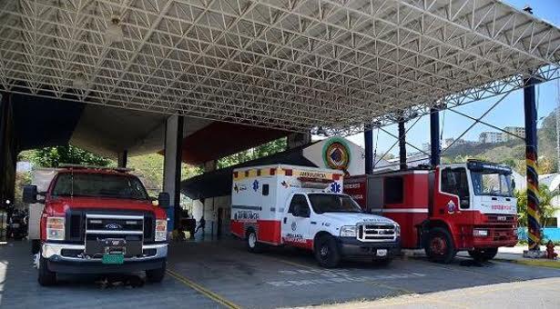 Estación de Los Teques de  Bomberos de Miranda sin teléfonos por robo de cableado