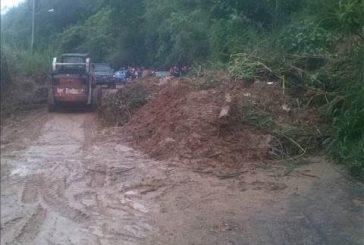 Cinco viviendas afectadas por fuertes precipitaciones en Carrizal
