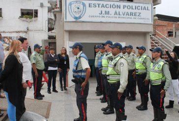 Alcalde José Luis Rodríguez reactiva módulo policial en José Manuel Álvarez