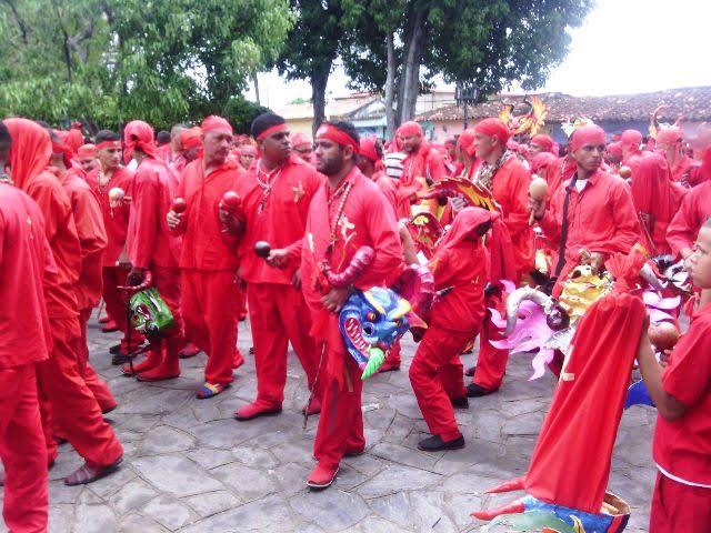 Diablos Danzantes de Yare arriban a 268 años de tradición
