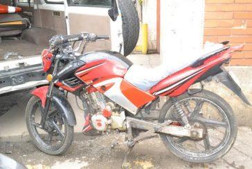 Recuperada moto por Policarrizal en Los Hidalgos