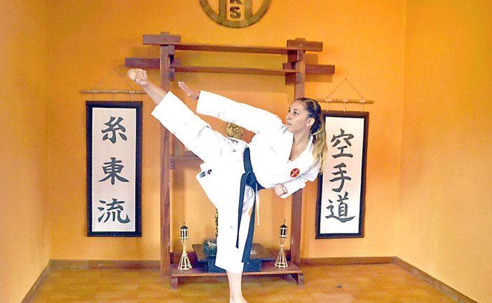 """""""Es falso que con el karate se pierda la feminidad"""""""