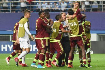 Venezuela ganó a Uruguay en penales y está en final del Mundial Sub 20