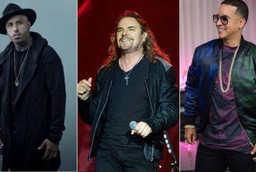 Nicky Jam, Maná y Daddy Yankee actuarán en el Festival Los Dells