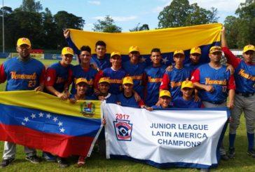 Venezuela es campeón latinoamericano en Pequeñas Ligas