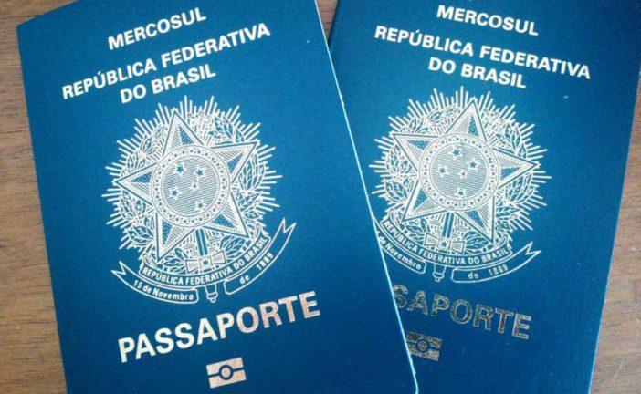 Reanudan emisión de pasaportes en Brasil después de un mes