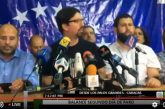 Oposición protestará viernes, sábado y domingo