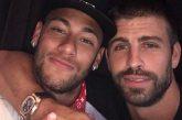 """Piqué asegura que Neymar """"se queda"""" en el Barcelona"""