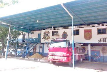 Delincuentes robaron sede  de Bomberos de Miranda