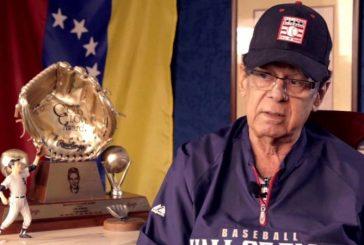 Luis Aparicio mostró solidaridad con juventud venezolana