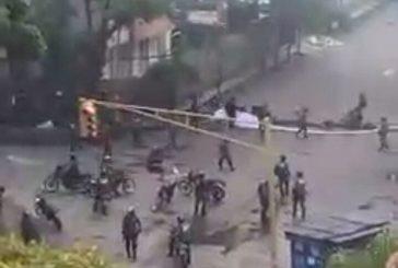 GNB intenta dispersar a manifestantes en Montalbán
