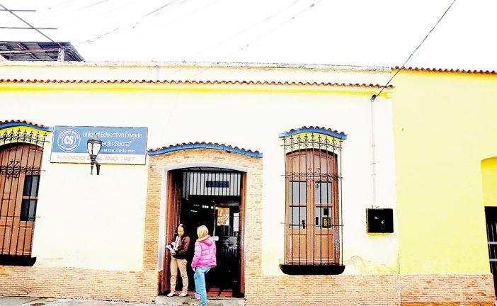 Hasta el viernes son las inscripciones en el Colegio Sucre