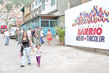 Barrio Tricolor ha reparado 339 casas en Guaicaipuro