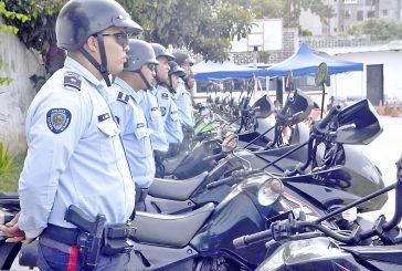 Con 19 motos Polimiranda activó  grupo de Respuesta Inmediata