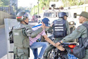 10 detenidos y 3 GNB heridos dejó Trancazo