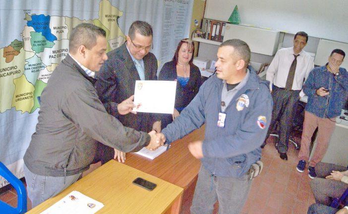 Cicpc reconoce labor  de sus funcionarios