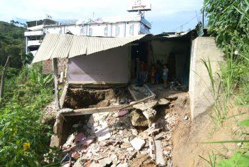143 casas afectadas por las lluvias