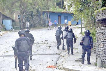 Nueve detenidos y cuatro heridosdejan manifestaciones