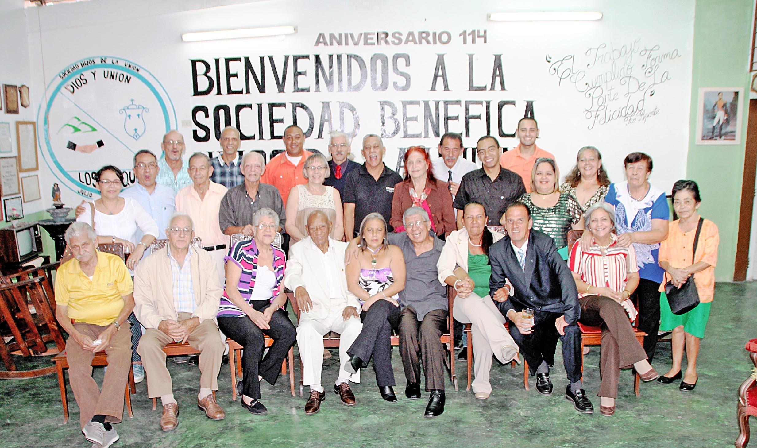 Hijos de la Unión celebró 114  años al servicio de la Comunidad