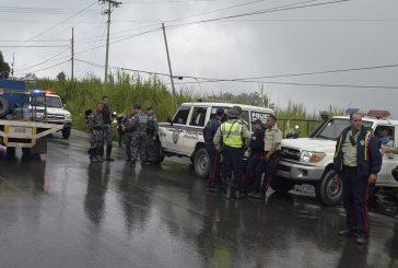 Caen abatidos dos atracadores de autobuses