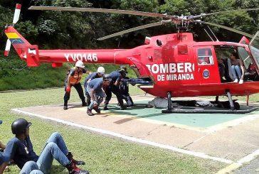 Bomberos de Miranda enseñan sobre rescate aéreo a estudiantes de la Universidad de la Seguridad