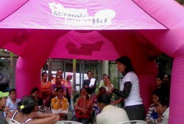 Más de cinco mil ciudadanas fueron beneficiadas con programas que impulsa Mujeres Miranda