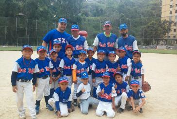 Niños del Alexis Padilla reinaron en el beisbol semillitas
