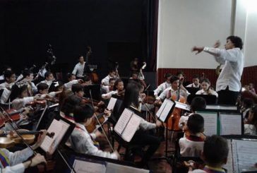 Orquesta juvenil e Iniciación Carrizal cerraron temporada escolar con un gran concierto